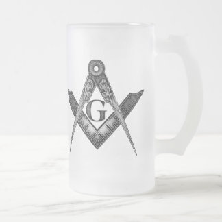 The Antient Frosted Glass Beer Mug
