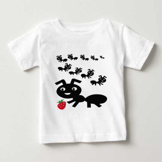 The ants go marching design baby T-Shirt