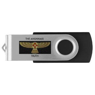 THE ANUNNAKI TRUTH USB FLASHDRIVE SWIVEL USB 2.0 FLASH DRIVE