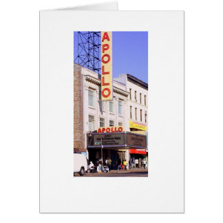 The Apollo Theater Card