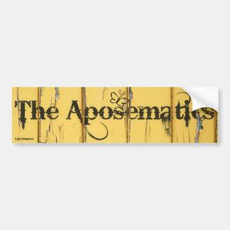 The Aposematics Bumper Sticker! Bumper Sticker