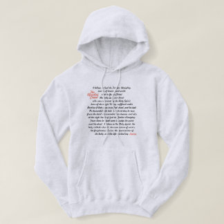 The Apostles' Creed Hoodie