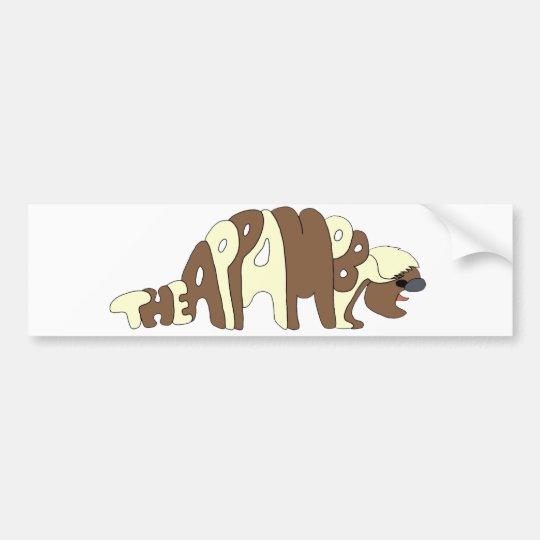 The Appamobile Logo Bumper Sticker