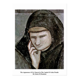 The Appearance Of St. Francis In The Capitol Post Card