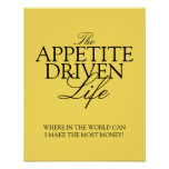 The Appetite-Driven poster