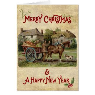 The Apple Cart Christmas & New Year Card