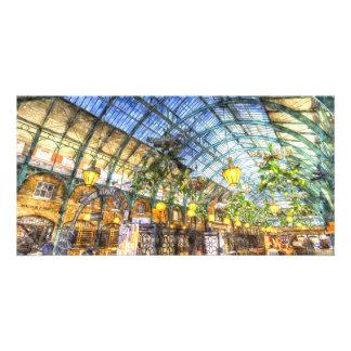 The Apple Market Covent Garden London Art Customized Photo Card