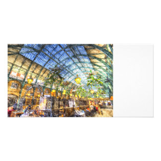 The Apple Market Covent Garden London Art Photo Greeting Card
