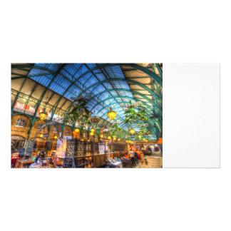 The Apple Market Covent Garden London Customized Photo Card