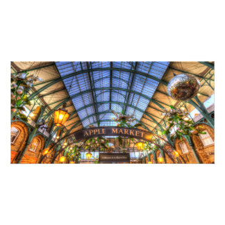 The Apple Market Covent Garden London Photo Card
