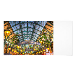 The Apple Market Covent Garden London Photo Greeting Card