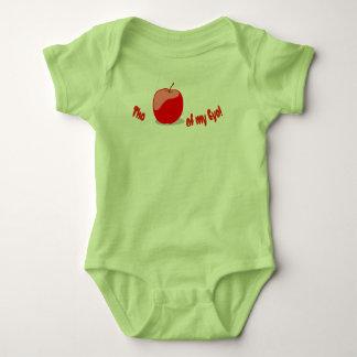 """The APPLE of MY EYE"" Baby Bodysuit"