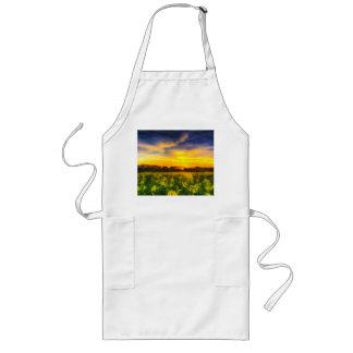 The April Farm Art Long Apron