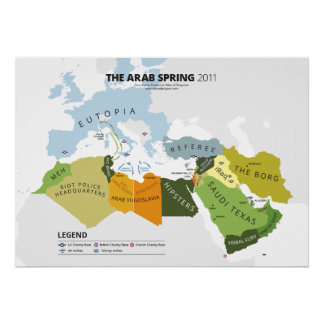 The Arab Spring Poster