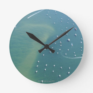 The Arcachon Bassin Entry Round Clock