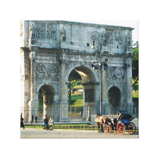 The Arch of Constantine Canvas Reproduction