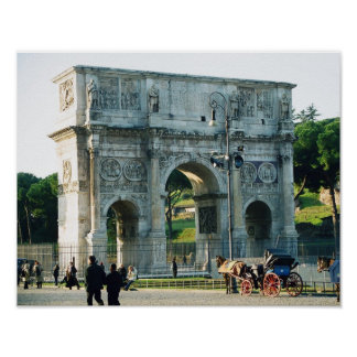 """The Arch of Constantine"" Poster"