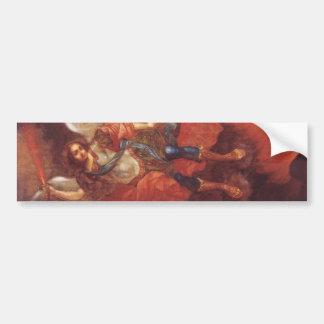 The Archangel St. Mikhail by Vladimir Borovikovsky Bumper Sticker