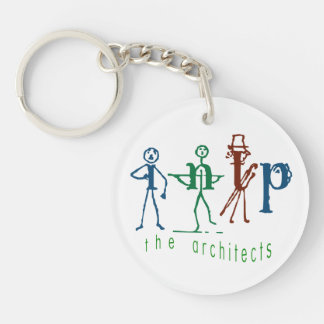 The Architect - Myers Briggs INTP Keychain