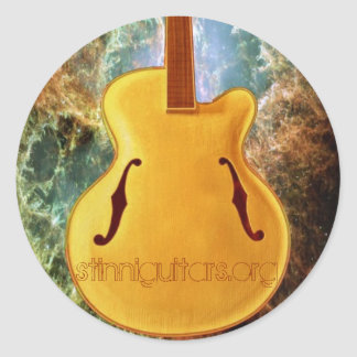The Archtop Classic Round Sticker