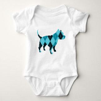 The Argyle Dog Baby Bodysuit