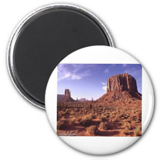 The Arizona Mountains Refrigerator Magnet