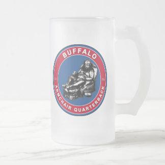 THE ARMCHAIR QB - Buffalo Frosted Glass Beer Mug