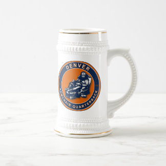 The Armchair QB Denver Football Stein