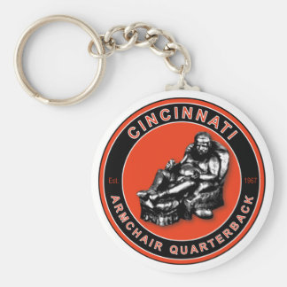 The Armchair Quarterback - Cincinnati Football Keychain