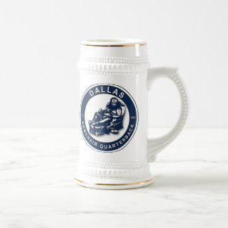 The Armchair Quarterback - Dallas Football Fans Beer Stein