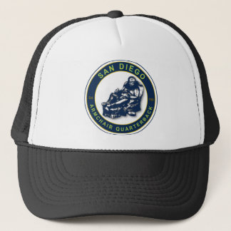 The Armchair Quarterback - San Diego Football Fans Trucker Hat