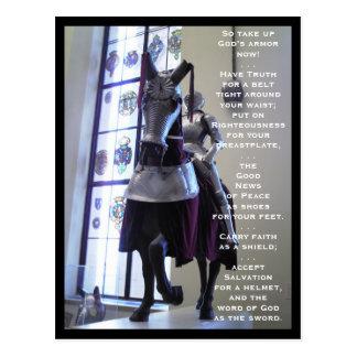 The Armor Of God (horse) Postcard