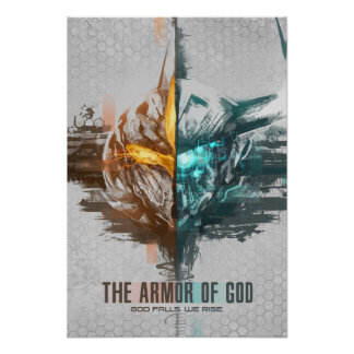 """The Armor of God"" Milos Ravana and Besoe Nandi Po Poster"