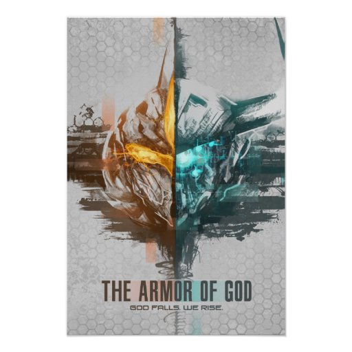 """The Armor of God"" Milos Ravana and Besoe Nandi Po Poster"