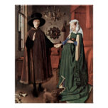 The Arnolfini Wedding by Jan van Eyck Poster