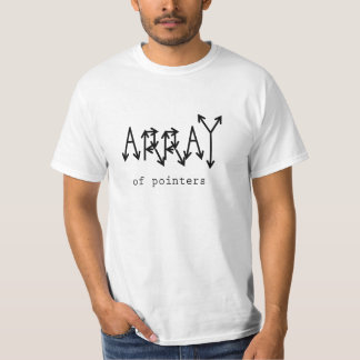 The Array Abstract Data Structure T-Shirt