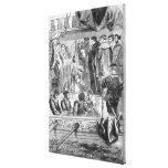 The Arrest of Anne Boleyn Stretched Canvas Prints