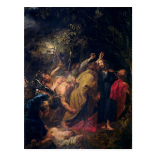 The Arrest of Christ in the Gardens, c.1628-30 Postcard