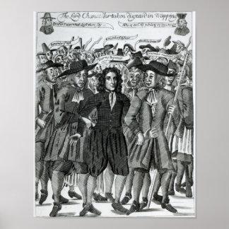 The Arrest of Judge Jeffreys  1689 Poster