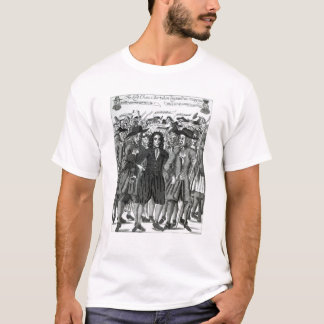 The Arrest of Judge Jeffreys  1689 T-Shirt