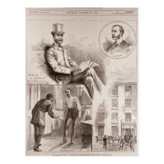 The Arrest of Mr. C.S. Parnell, MP Postcard