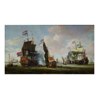 The Arrival Michiel Adriaanszoon Ruyter Poster
