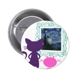 The Art Curator for Kids Critters 2 Inch Round Button