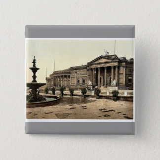 The art gallery and museum, Liverpool, England rar 2 Inch Square Button