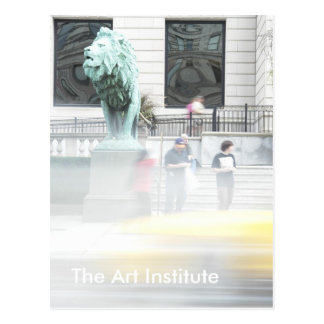 The Art Institute Postcard