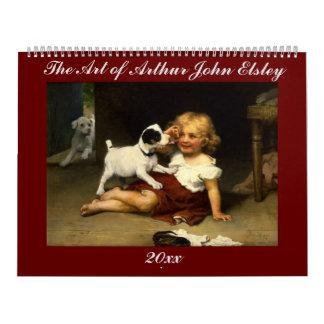 The Art of Arthur John Elsley Calendar