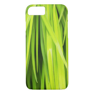 The Art Of Green Leaves iPhone Case