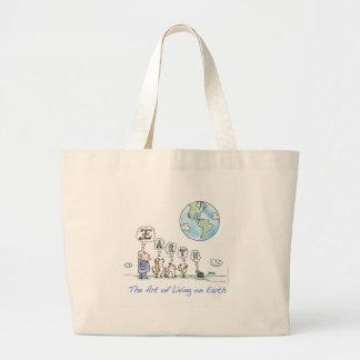 The Art of Living on Earth Bag