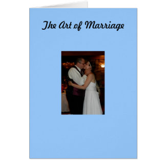 The Art of Marriage Card