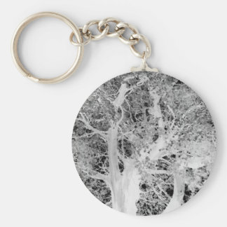The art of nature basic round button keychain